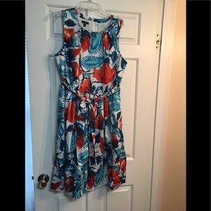 Talbots dress- Sz 14. Wedding/party/spring.  EUC!!